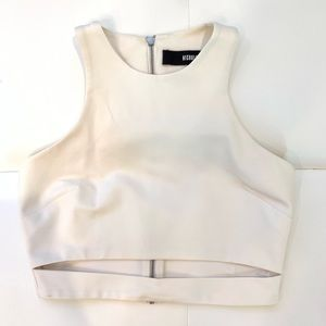 NICHOLAS Sleeveless Crop Top Sz 44